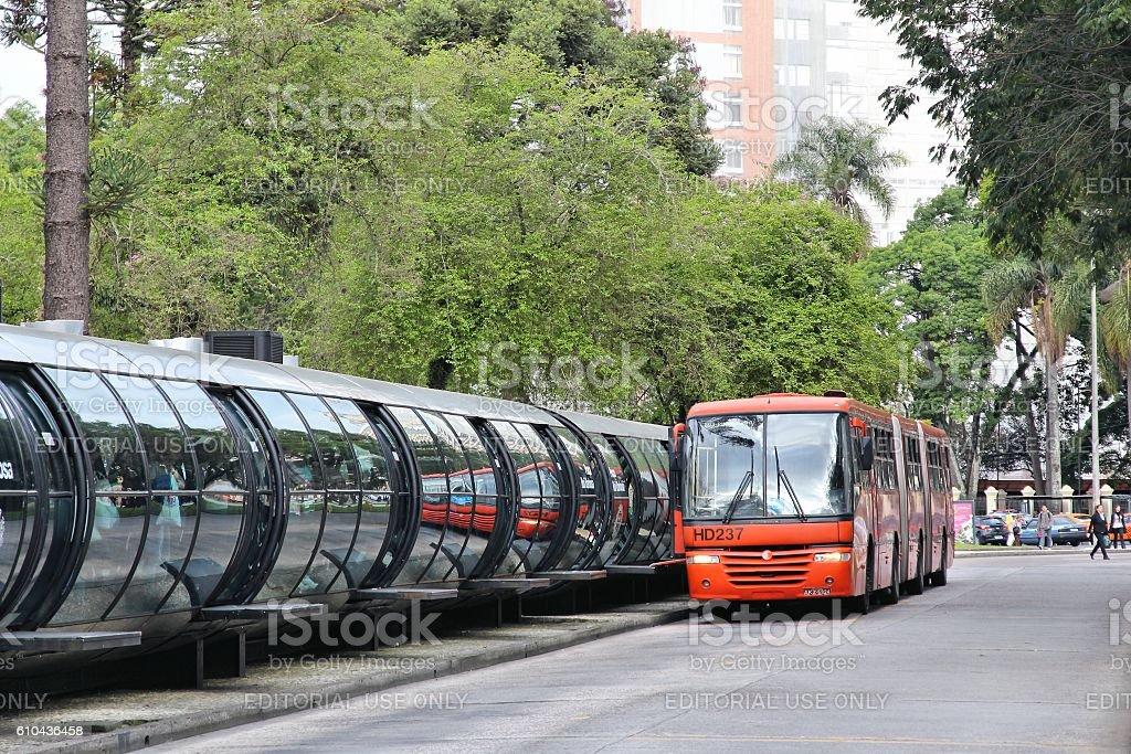 Brazil bus stock photo