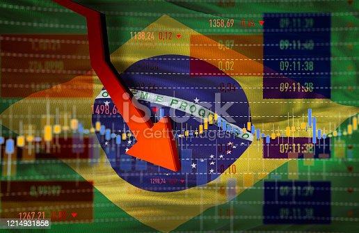 istock Brazil Economy Crash 1214931858