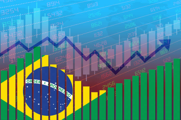 Brazil Economy Improves and Returns to Normal After Crisis stock photo