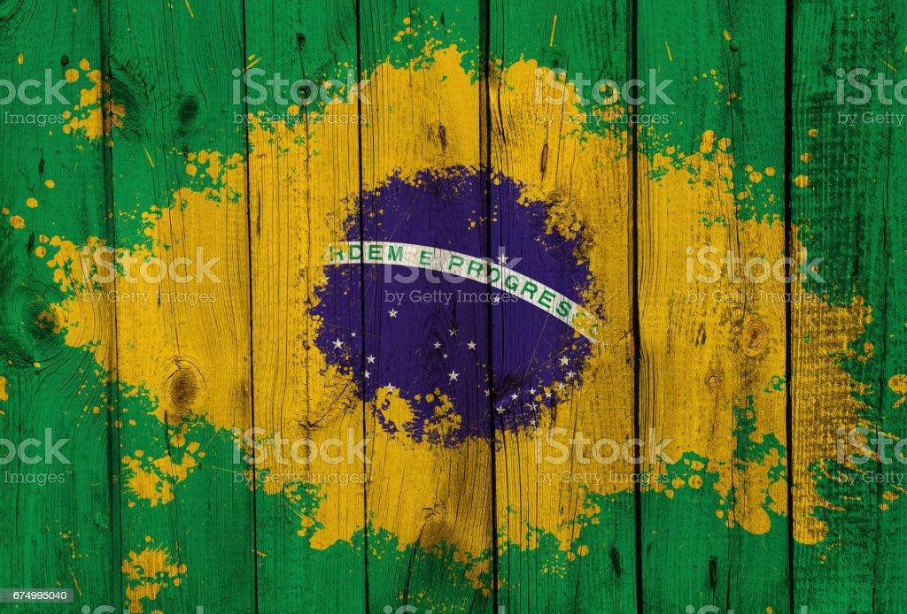 Brazil flag - foto de acervo