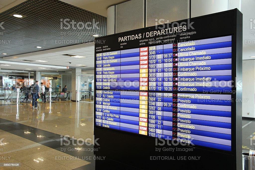 Brazil flights - foto de acervo