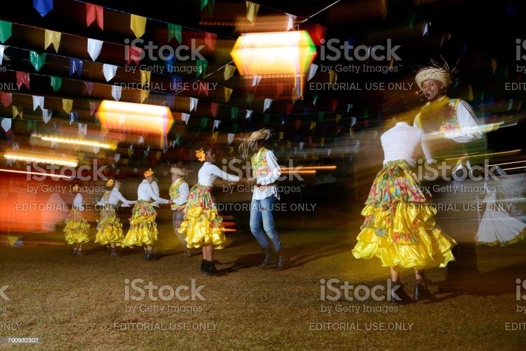 Brasil popular: Festa Junina, Quadrilha - foto de acervo