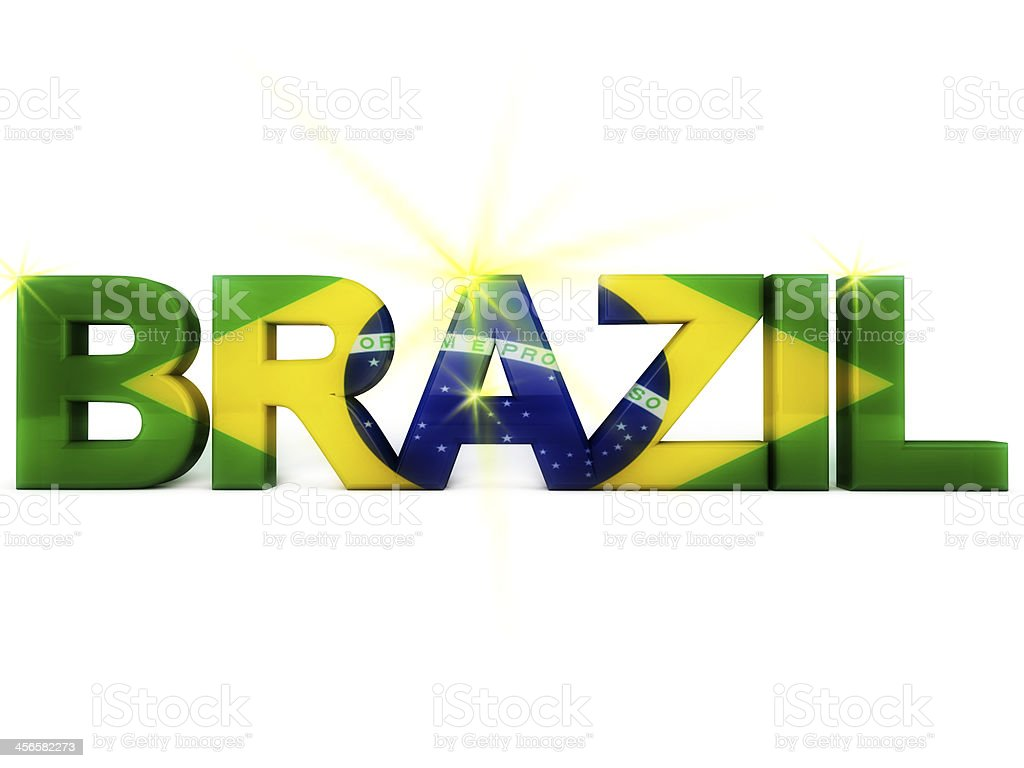 Brazil Football World Cup 2014 royalty-free stock photo