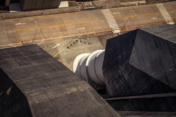 Brasilien, Foz do Iguaçu - Itaipu hydroelektrische Turbine Rohr. – Foto
