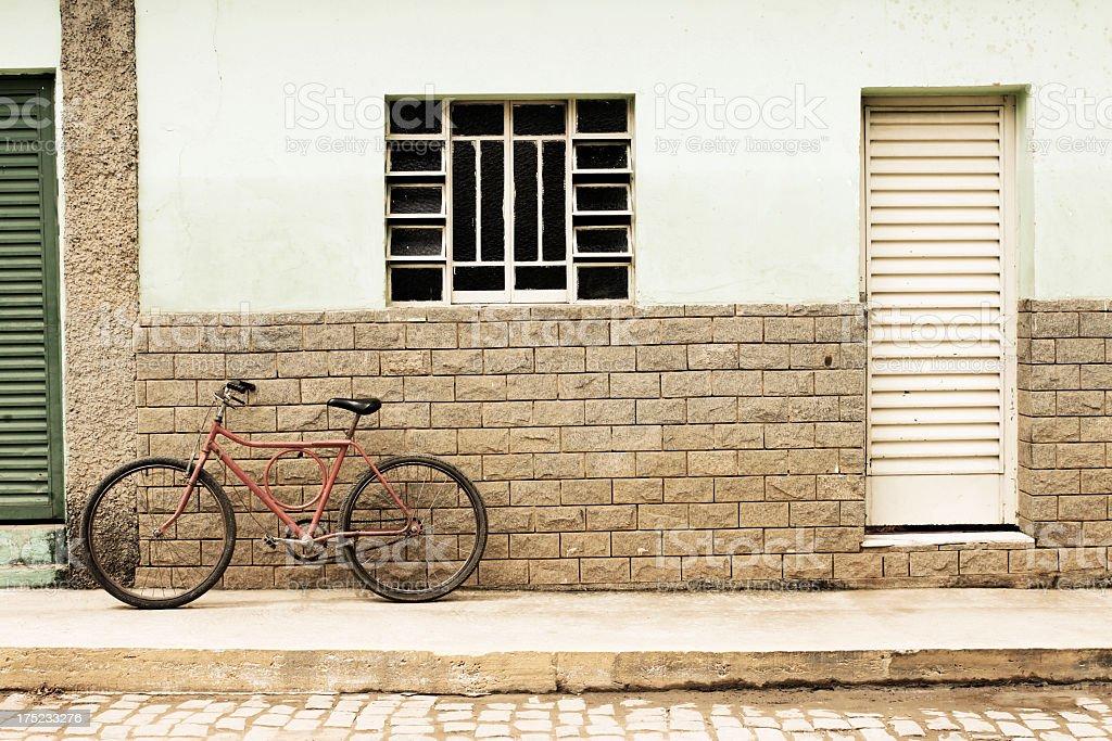 Brazil - Interior small city scene royalty-free stock photo