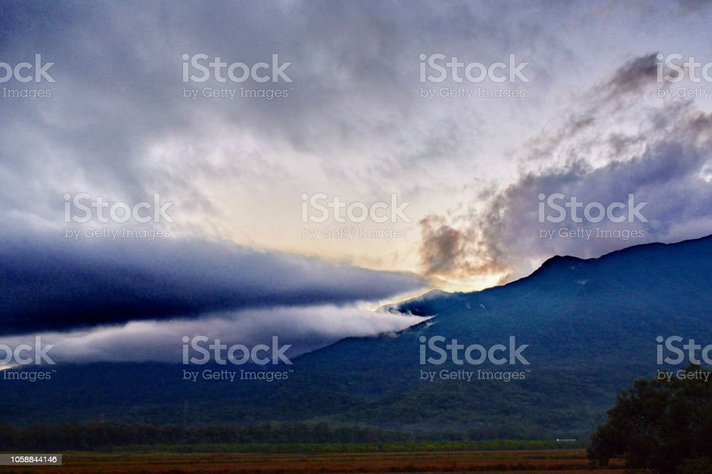 Brazil Landscapes On A Cloudy Day Of Rain Stock Photo Download