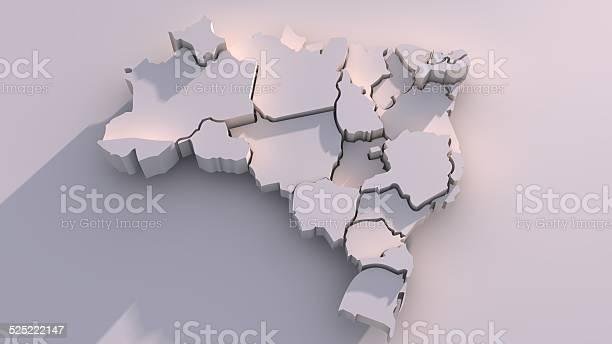 Foto de Mapa Com Membros Do Brasil e mais fotos de stock de América Latina