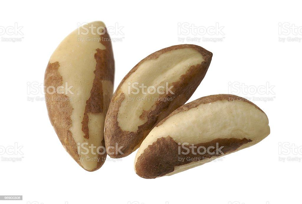 Brazil Nuts royalty-free stock photo