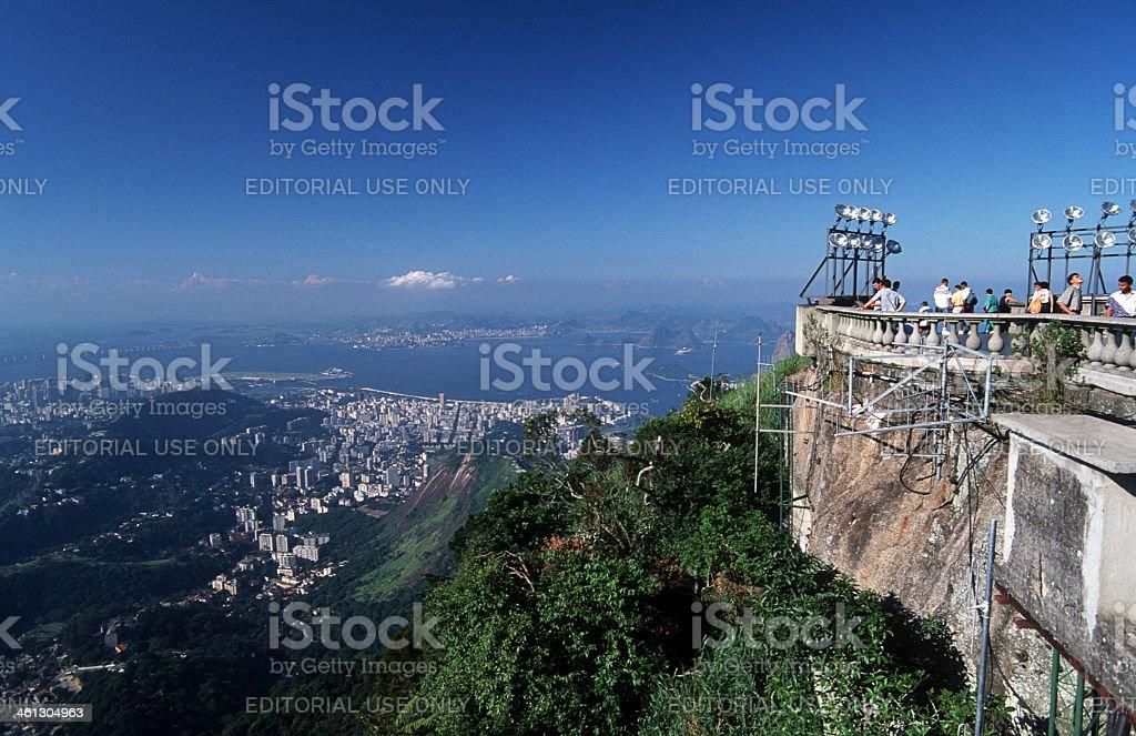 Brazil, Rio de Janeiro, Corcovado. royalty-free stock photo