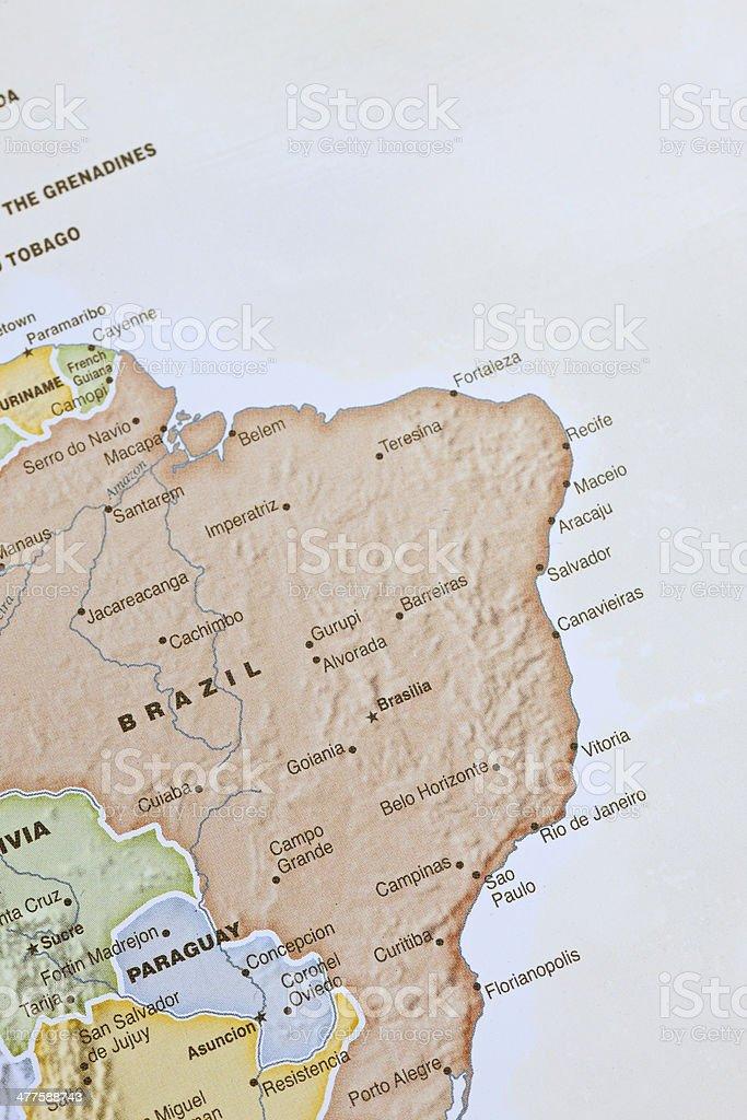 Brazil & Rio de Janeiro royalty-free stock photo