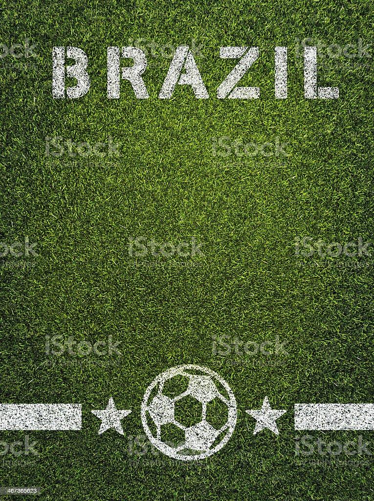 Brazil Soccer royalty-free stock photo