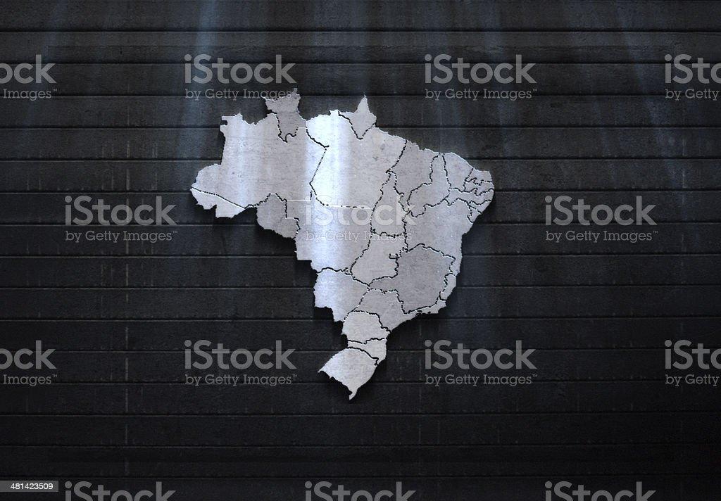 brazil texture royalty-free stock photo