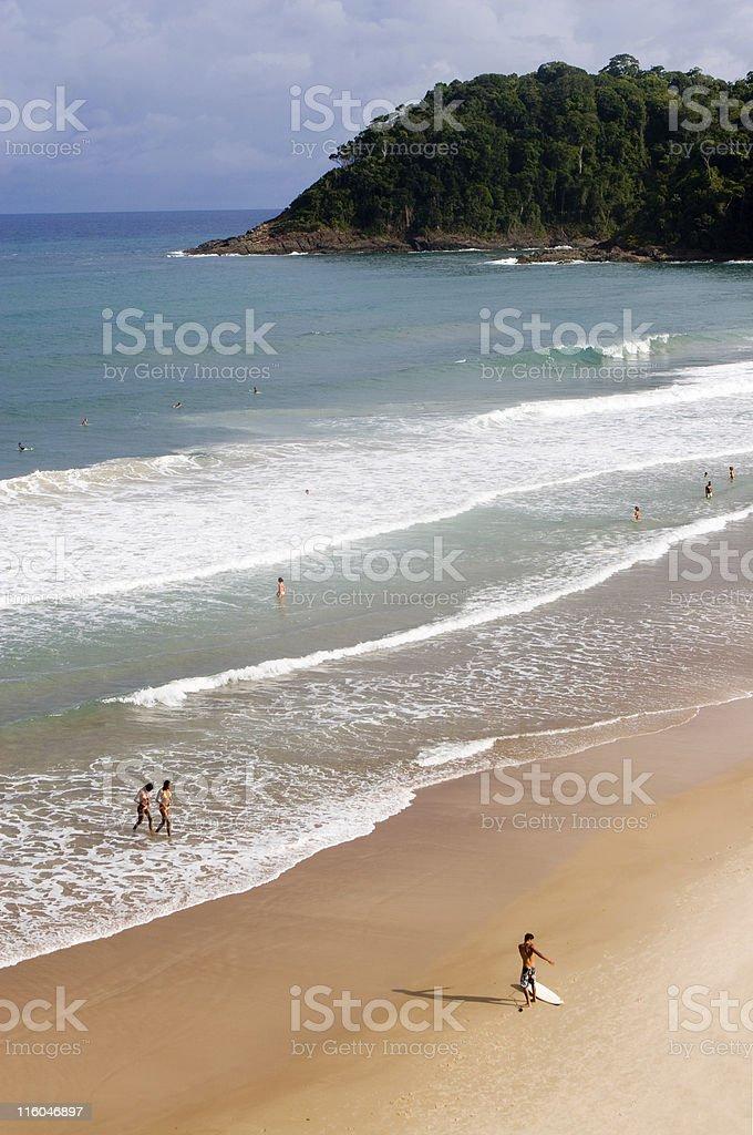 Brazil, Tropical Beach. stock photo