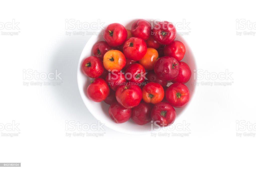 Brazilian Acerola Fruit stock photo