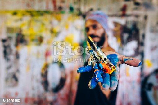 istock Brazilian artist 641925180