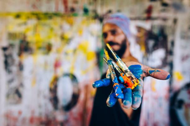 Brazilian artist - foto stock
