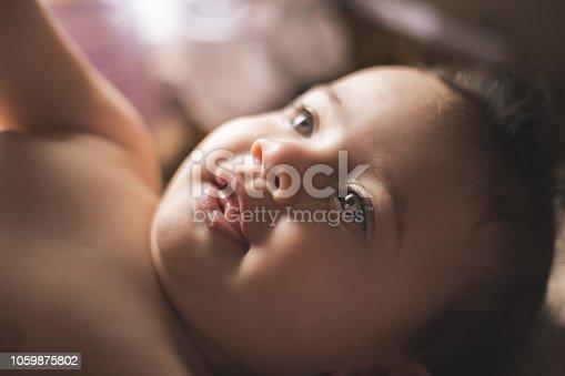 istock Brazilian baby girl 1059875802