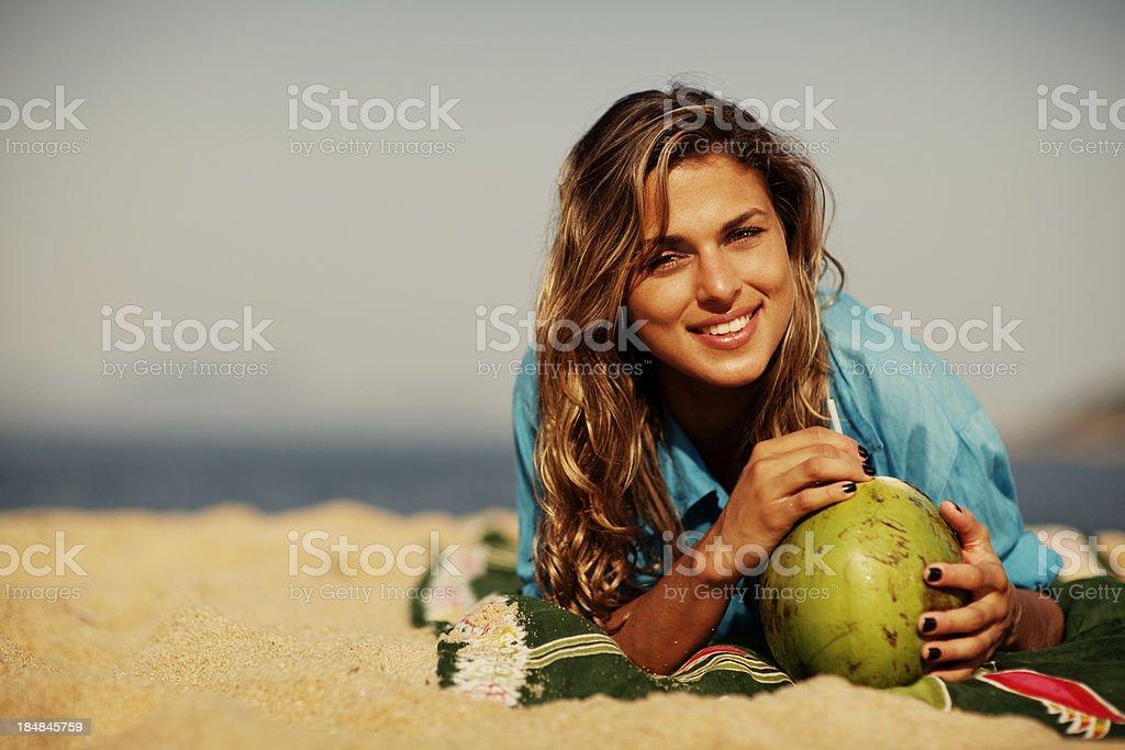 Brazilian Beach royalty-free stock photo