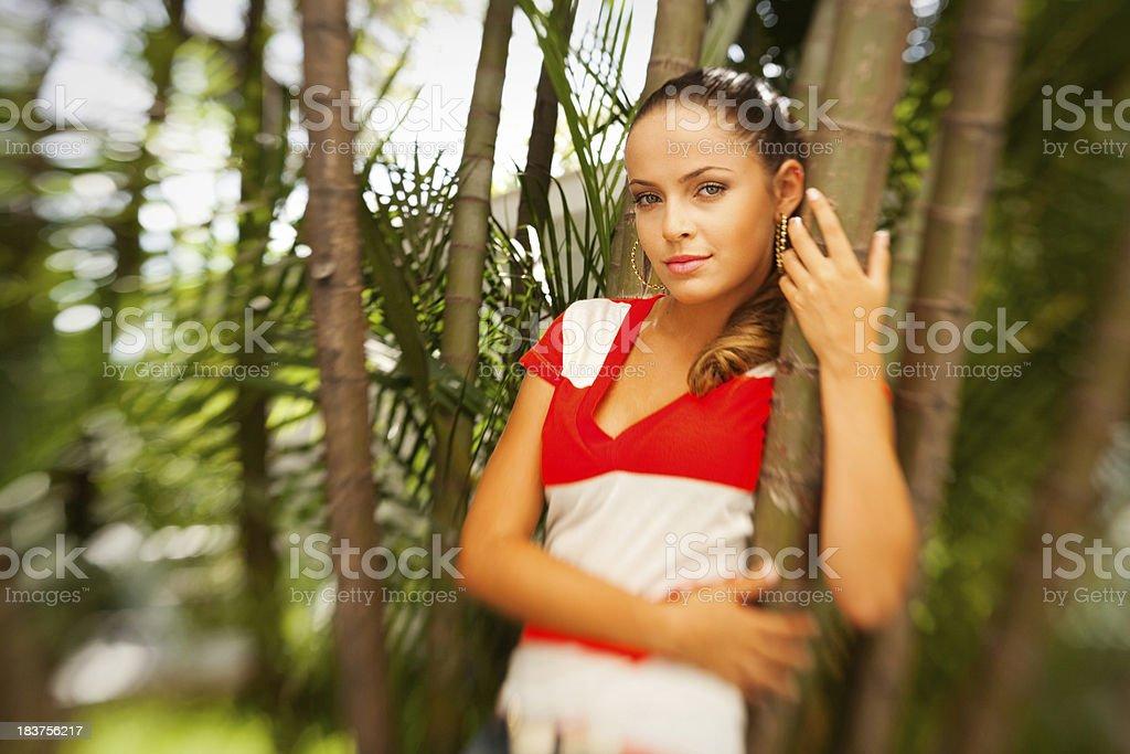 Brasilianische Schönheit Lizenzfreies stock-foto