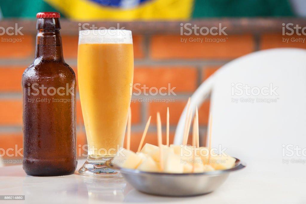 Fromage et bière brésilienne - Photo