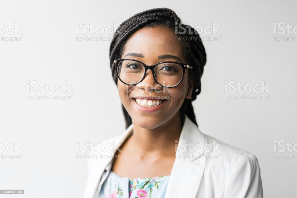 Brazilian businesswoman in creative office stock photo