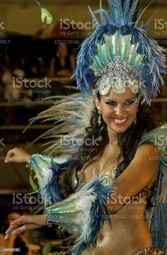 Brazilian Carnival royalty-free stock photo