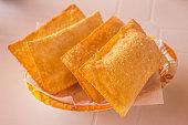 Brazilian Cheese Pastel