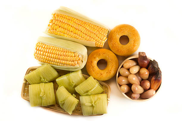 Brazilian country farm food stock photo