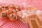 istock Brazilian dessert sweet of pumpkin and milk candy 806331424
