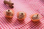 istock Brazilian dessert sweet of pumpkin, coconut and cinnamon. 806318462