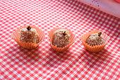 istock Brazilian dessert sweet of pumpkin, coconut and cinnamon. 806354854