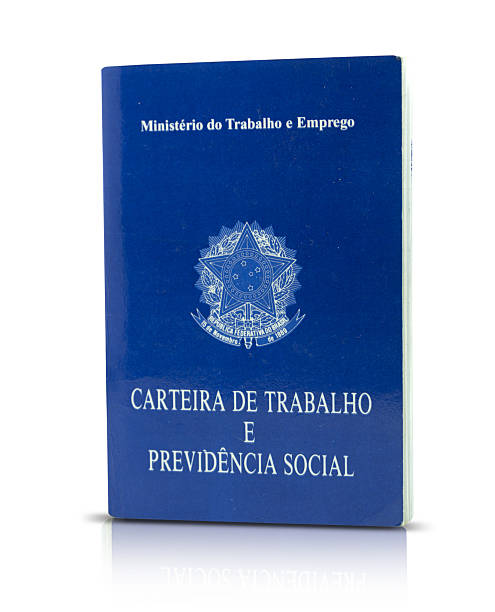 brazilian document work and social security - wallet stock pictures, royalty-free photos & images