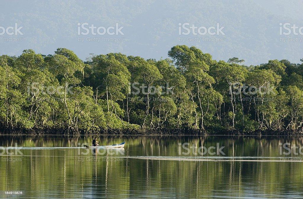 Brasiliano pescatore - foto stock