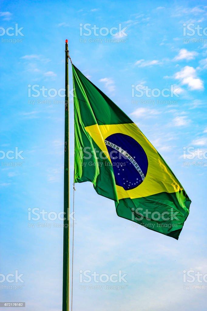 Bandeira Brasileira - foto de acervo