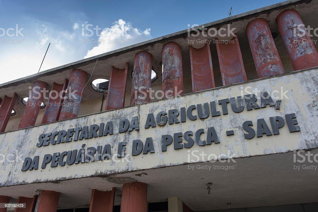 Brazilian Government stock photo