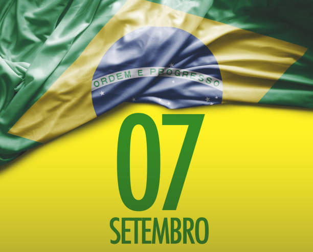 Brazilian Independence Day. September, 7 Brazilian collection independence day holiday stock pictures, royalty-free photos & images