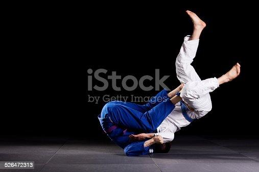 istock Brazilian jiu-jitsu martial arts 526472313