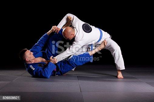 istock Brazilian jiu-jitsu martial arts 526509521