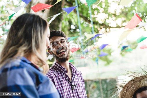 Tradicional Brazilian Junina's Party