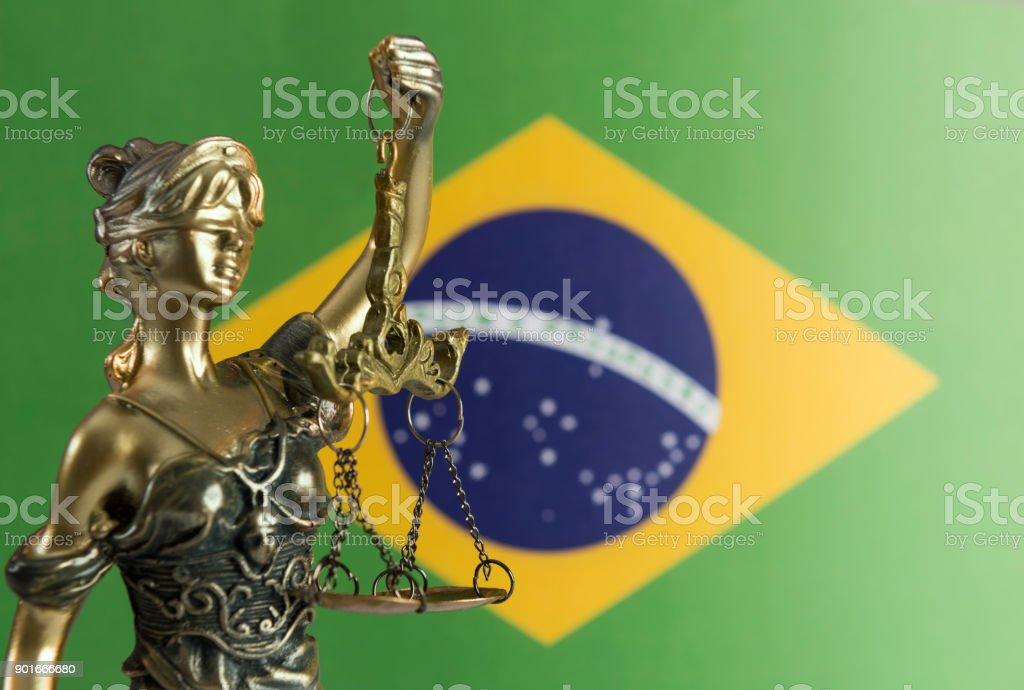Brazilian Justice stock photo