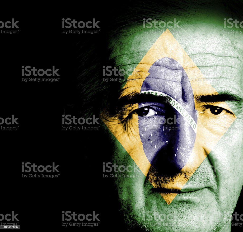 Brazilian Mature Man stock photo