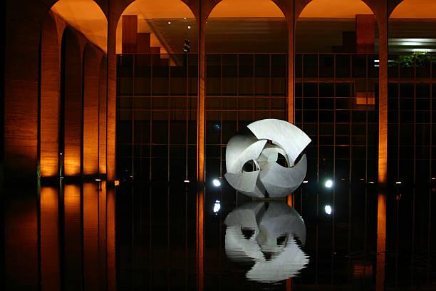 Brasileira Ministério das relações externas, Itamaraty Palace - foto de acervo