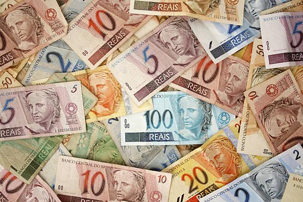 Brazilian money background