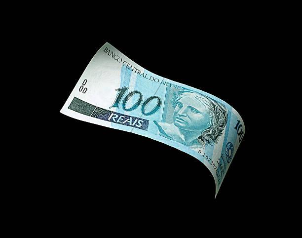 brasilianische geld - nummer 100 stock-fotos und bilder