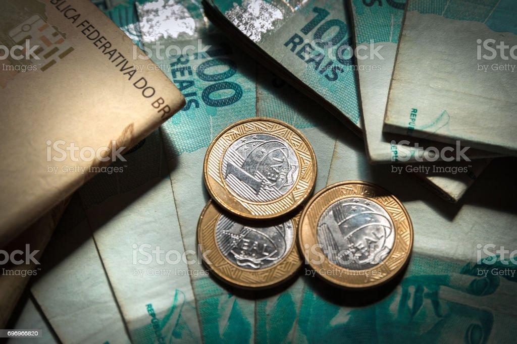 Brasileiro dinheiro - foto de acervo