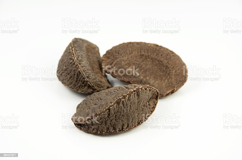 Brazilian nuts - Royalty-free Amandel - Noot Stockfoto