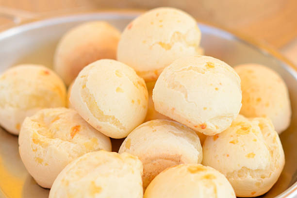 Brazilian pao de queijo mineiro from Minas stock photo