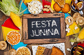 istock Brazilian party junina party 1227384424