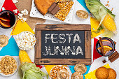 istock Brazilian party junina party 1227384458