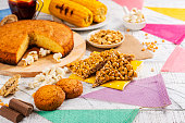istock Brazilian party junina party table 1226811734